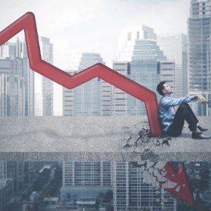 Cryptocurrency markt terugblik daling